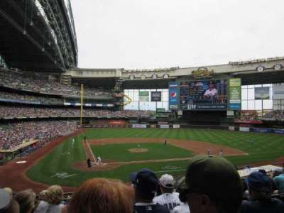 Miller Park, section: 216, row: 6, seat: 11