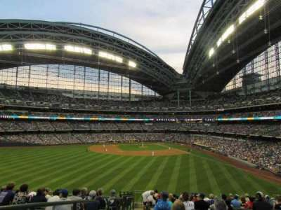 Miller Park, section: 237, row: 16, seat: 21