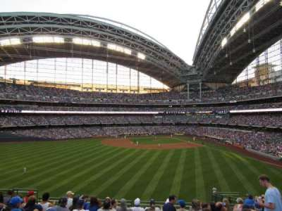 Miller Park, section: 238, row: 9, seat: 5
