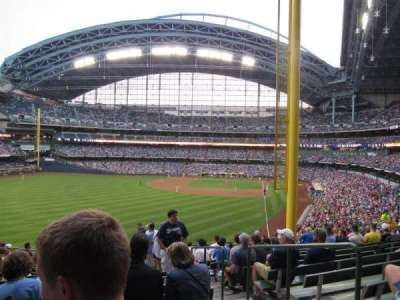 Miller Park, section: 234, row: 14, seat: 3