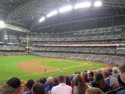 Miller Park, section: 227, row: 8, seat: 16