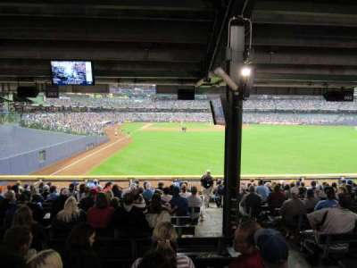 Miller Park, section: 104, row: ADA, seat: ADA