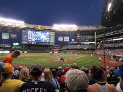 Miller Park, section: 118, row: 12, seat: 17