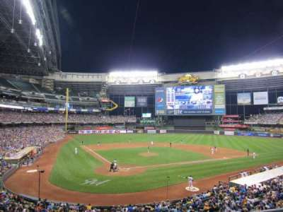Miller Park, section: 217, row: 2, seat: 12