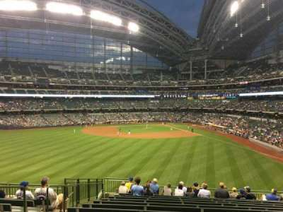 Miller Park, section: 237, row: 9, seat: 15