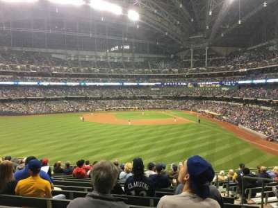 Miller Park, section: 237, row: 14, seat: 5