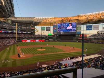 Miller Park, section: 216, row: 1, seat: 11