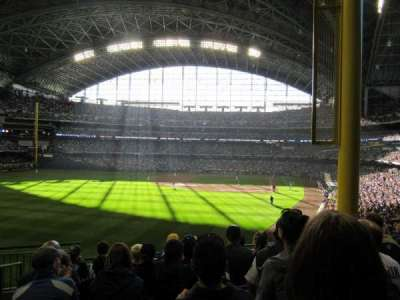 Miller Park, section: 233, row: 7, seat: 21