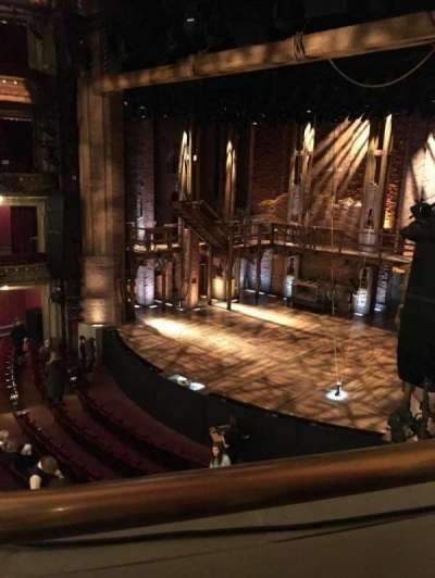 PrivateBank Theatre, section: Mezz-R, row: A, seat: 10