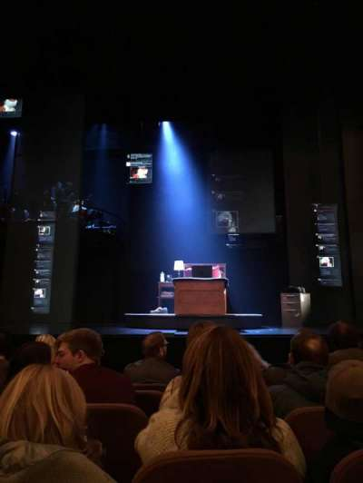 Music Box Theatre, section: Orchestra Center, row: E, seat: 104