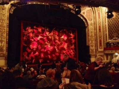 Cadillac Palace Theater, section: Orchestra L, row: T, seat: 15