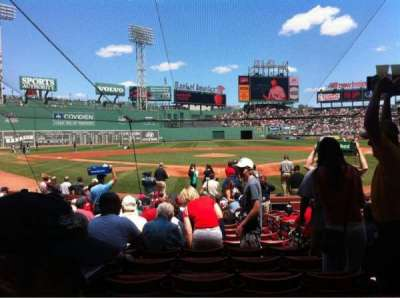 Fenway Park section Field box 45