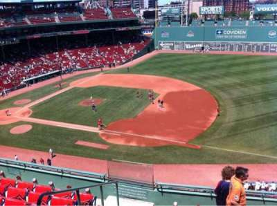 Fenway Park, section: Pavilion Box 11, row: A, seat: 21