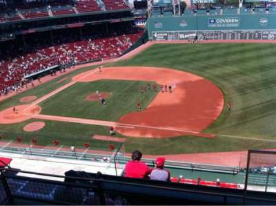 Fenway Park, section: Pavilion Box 9, row: C, seat: 1