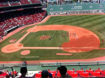 Fenway Park, section: Pavilion Box 7, row: A, seat: 14