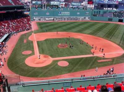 Fenway Park, section: Pavilion Box 1, row: A, seat: 13