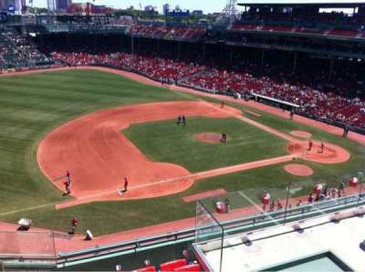 Fenway Park, section: Pavilion Box 10, row: A, seat: 17