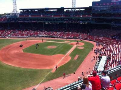 Fenway Park, section: Pavilion Box 16, row: E, seat: 22