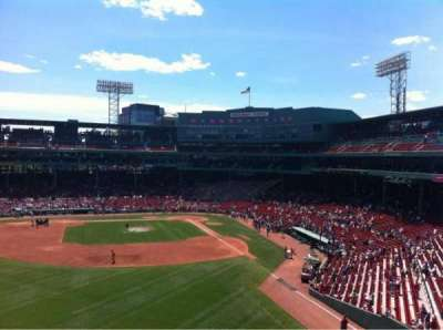 Fenway Park, section: Green Monster 3