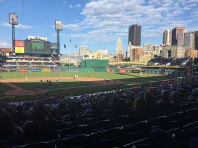 PNC Park, section: 114, row: Z, seat: 29