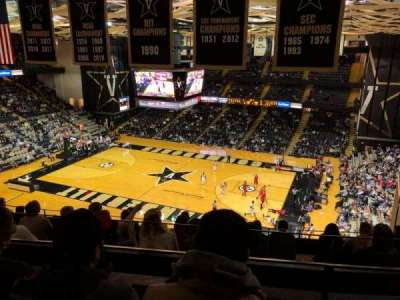 Memorial Gymnasium (Vanderbilt), section: 3G, row: 10, seat: 6
