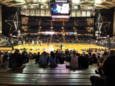Memorial Gymnasium (Vanderbilt), section: 3I, row: 26, seat: 12