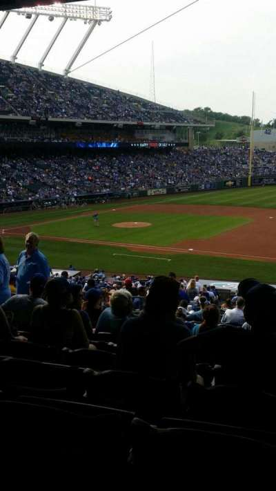 Kauffman Stadium, section: 238, row: NN, seat: 7