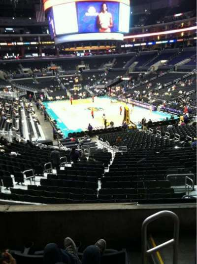 Staples Center, section: 209, row: 4, seat: 2