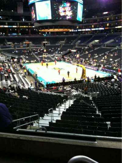 Staples Center, section: 209, row: 3, seat: 9