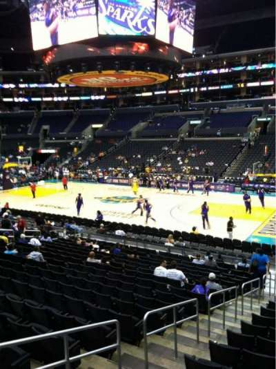 Staples Center, section: 109, row: 18, seat: 10