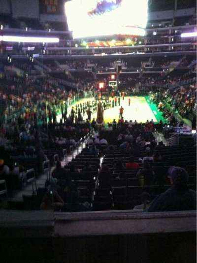 Staples Center, section: 216, row: 2, seat: 9
