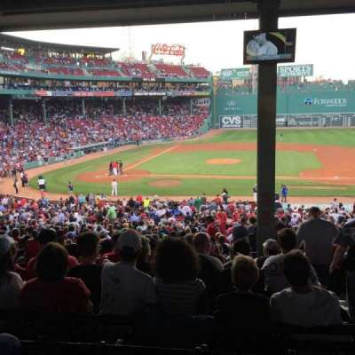 Fenway Park, section: Grandstand 16, row: 14, seat: 2
