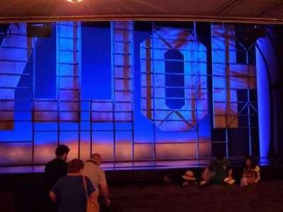 Nederlander Theatre section Orchestra L