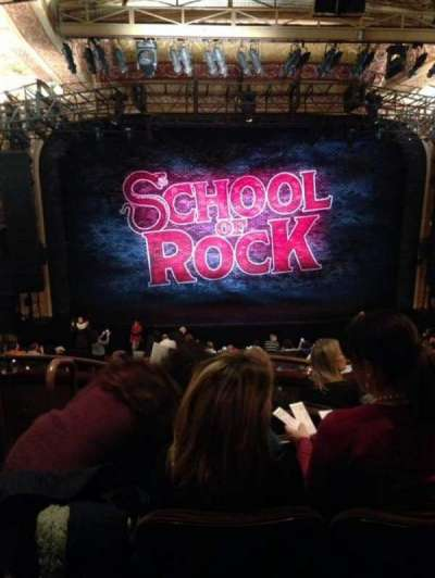 Winter Garden Theatre, section: Mezz, row: E, seat: 102