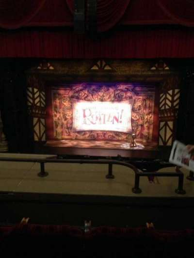 Oriental Theatre, section: LOGE-C, row: C, seat: 309