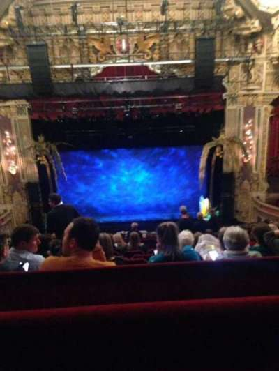 Oriental Theatre, section: Balcony C, row: M, seat: 306