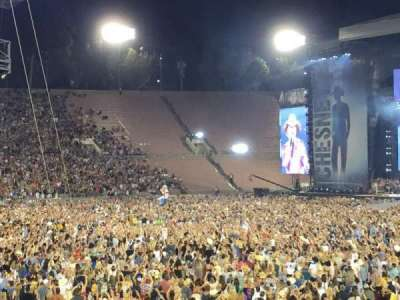 Rose Bowl, section: 16-h, row: 21, seat: 112