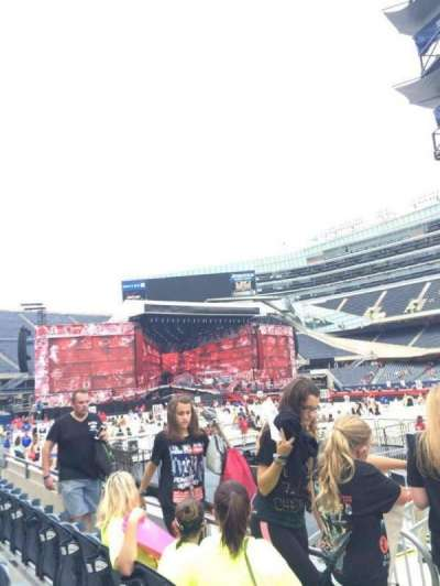 Soldier Field, section: 134, row: 3, seat: 1