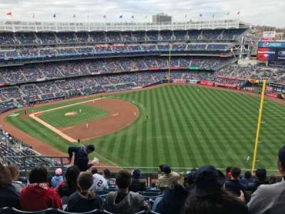 Yankee Stadium, section: 409, row: 8, seat: 14