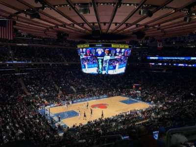 Madison Square Garden, section: 221, row: 5, seat: 21
