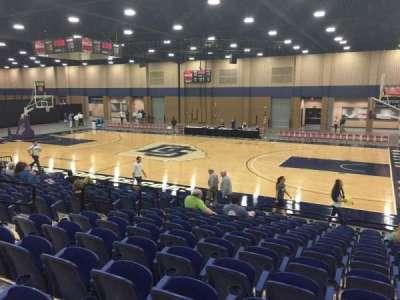 Mashburn Arena, section: 5, row: NN, seat: 6