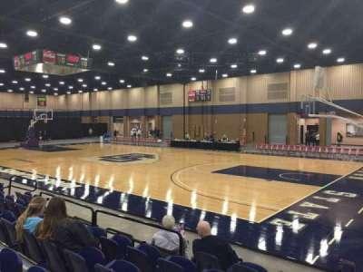 Mashburn Arena, section: 4, row: FF, seat: 6