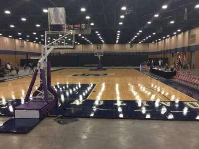 Mashburn Arena, section: 1, row: DD, seat: 10