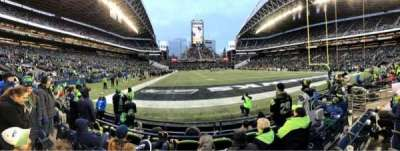 CenturyLink Field, section: 124, row: D, seat: 8
