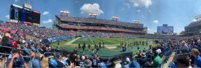 Nissan Stadium, section: 139, row: F, seat: 8