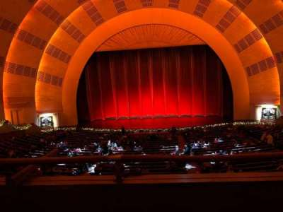 Radio City Music Hall section 1st Mezzanine 4