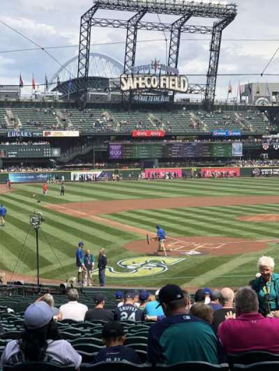 Safeco Field, section: 128, row: 28, seat: 2