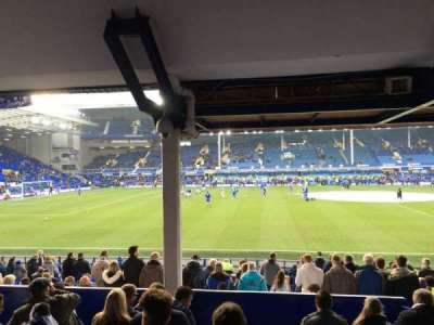 Goodison Park, section: Lb2, row: H, seat: 120
