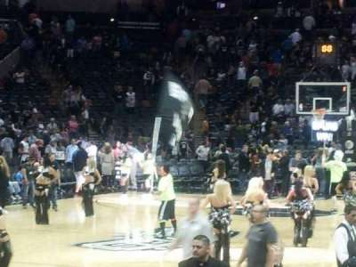 AT&T Center, section: 112, row: 11, seat: 4