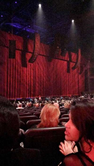 Microsoft Theater, section: ORCH LEFT, row: CC, seat: 509